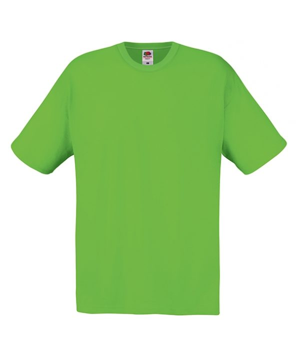 T-shirt Fruit of the loom Verde Lime